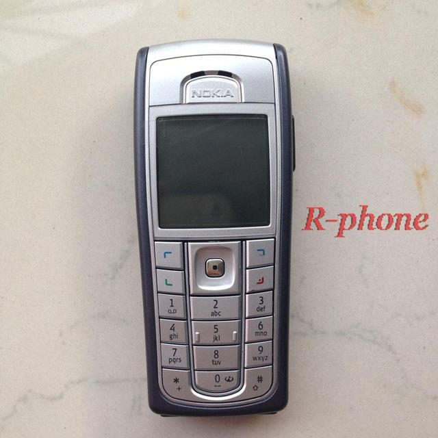 6230i Original NOKIA Phone 2G GSM Unlocked Arabic English Russian Keyboard Gift One
