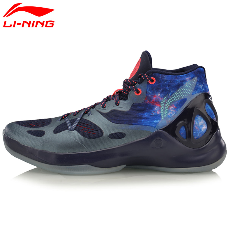 Li-Ning Men's Sonic V Basketball Shoes Professional Basketball Sneakers Support LiNing Sports Shoes ABAM019 XYL096 li ning original men sonic v turner player edition basketball shoes li ning cloud cushion sneakers tpu sports shoes abam099