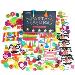 120 шт Детские вечерние игрушки мультяшная шляпа волновая пластина Усы очки рот игрушки-свистки вечерние Реквизит День рождения