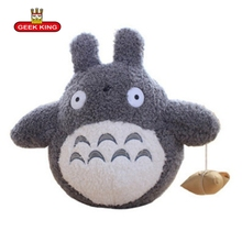 GEEK KING 40cm Cartoon Totoro Plush animals Dolls Stuffed plush Toys Cushion High Quality Kids Gift Toyfreeshippings