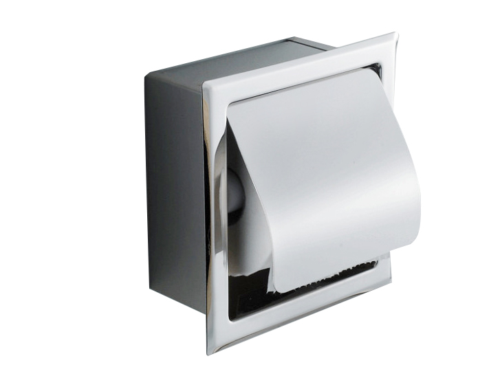 Recessed Stainless Steel Bathroom Toilet Roll Paper Holder Tissue ...