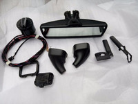 auto dimming rear view interior mirror+Automatic Headlight swtich+automatic wipers FOR VW Golf 6 mk6 Tiguan Passat B7 CC