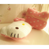 Decorative Plush Baby Toy Pillow Doll Coussins Decoratif Children Bed Decoration Pillow Pink Dolls For Girls