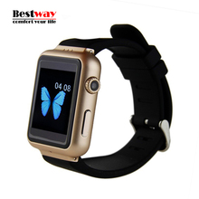Smart Watch K8 Android 4.4 os smartwatch mit 2 Mt pixel Webcam Wifi 3G für Android smartphone Unterstützung Sim-karte smartwatch telefon