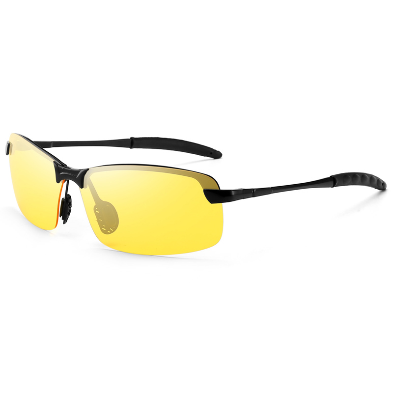 2019 New Night Vision Driver Goggles Unisex Vision Sun Glasses Car Driving Glasses UV Protection Polarized Sunglasses Eyewear