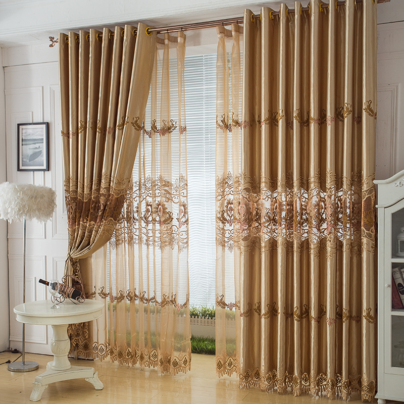 Aliexpresscom buy sheer curtains new for living room for Modern curtains for living room 2014
