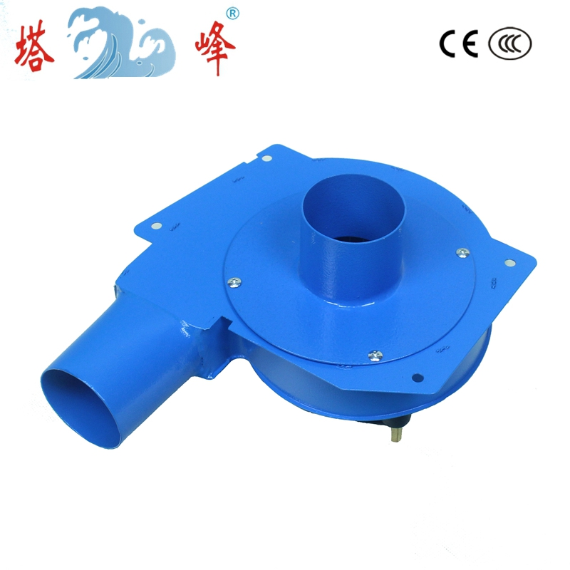 80w 60mm pipe small hot smoke gas lampblack extraction snail centrifugal ventilation fan blower DC 12v