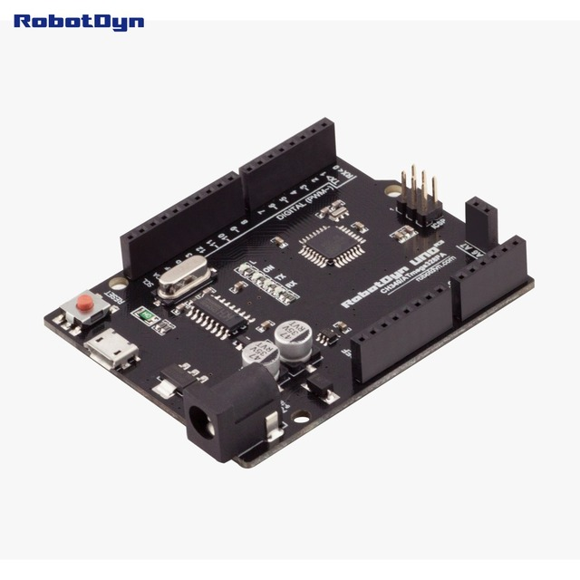 Nouveau 2016-UNO R3 ATmega328P, + A6-A7 pins, MicroUSB. Compatible pour Arduino UNO Rev 3.0