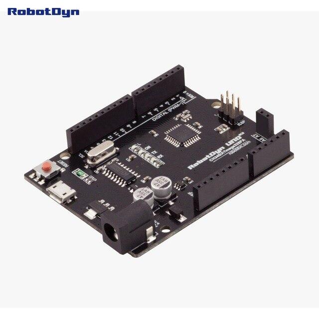 Nouveau 2016-UNO R3 ATmega328P, + broches de A6-A7, MicroUSB. Compatible pour Arduino UNO Rev 3.0