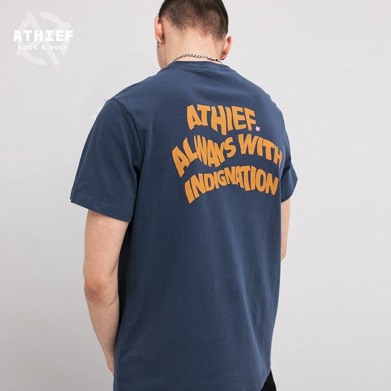 Athief Schaukel Tasche T Shirt Mannlichen Zuruck Englisch Halben