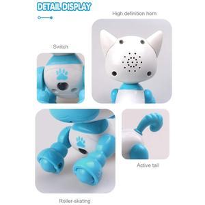Image 5 - Robô cachorro filhote de cachorro brinquedos para crianças interativas brinquedo presente de aniversário presentes de natal robô brinquedos para a menina do menino