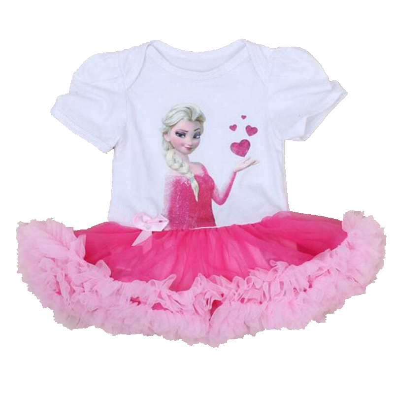 76780480a070 One Piece Lace Tutu Infant Princess Dress Toddler Baby Costume ...