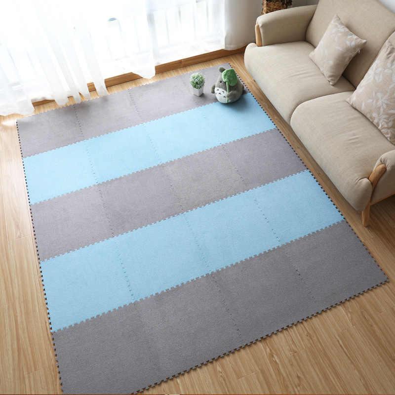 45x45x1 см EVA плюшевые детские игровые коврики плюшевый коврик Детский Поролоновый ковер Детский мягкий для развития подвижности игровой коврик