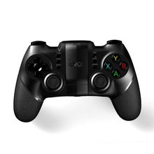 IPEGA 9076 Bluetooth Gamepad Rechargeable Bluetooth 2.4G Wireless Game Controller For Windows With Touch Phone Holder Joystick