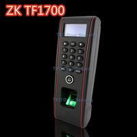 Biometric fingerprint door lock terminal waterproof standalone keypad zkteco TF1700 Building access and attendance device TCPIP