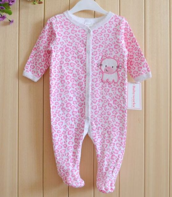 1ab996c7d Free Shipping Baby Rompers Foot Cover Baby Girl s Pajamas Romper ...