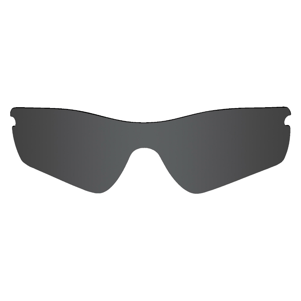 58cec1e861 Mryok POLARIZED Replacement Lenses for Oakley Radar Path Sunglasses Stealth  Black