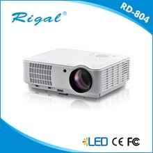 LED 804 1920×1080 cine en casa 3d proyector beamer proyector projektor tv lcd inteligente led proyector de vídeo full hd accesorios