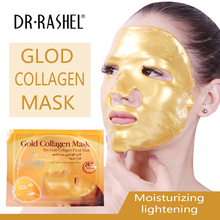 3 pcs/lot DR.RASHEL Gold Collagen Face Facial Mask Sheet Skin Care High Moisture Essence Oil Control купить недорого в Москве
