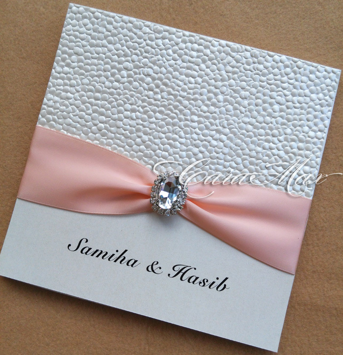 Aliexpress Ca0692 Embossed Pebble Pearlescent Paper Wedding Invitation Cards From Reliable Card Suppliers On Carahandmade