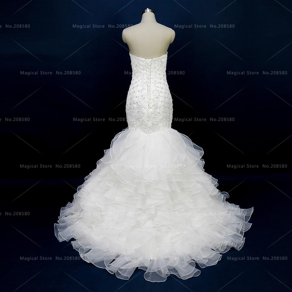 Glitter Greek Mermaid Wedding Dresses Women Bridal Gowns Strapless ...