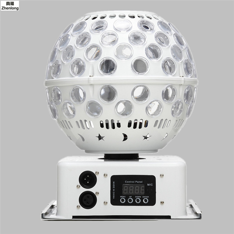 Haute Qualité LED D'effet D'étape D'éclairage 40 W LED Lanterne Lumière LED AC110-240V Disco De Boule Magique de Cristal De Mariage De Partie De Club de Laser