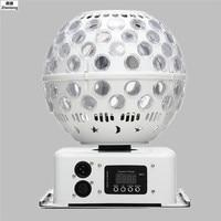 High Quality Led Stage Effect Lighting 40W LED Lantern Light LED AC110 240V Crystal Magic Ball Disco Club Party Wedding Laser