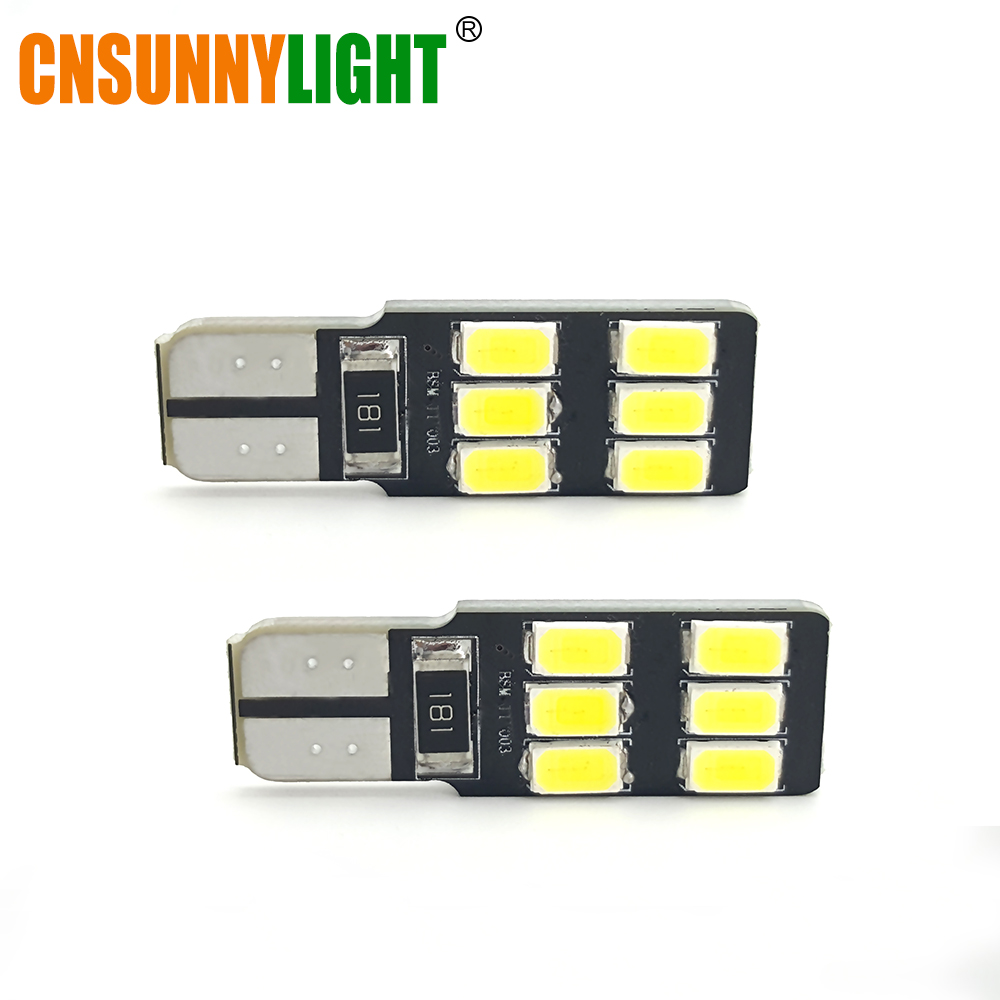 CNSUNNYLIGHT T10 W5W LED Car Canbus Parking Light Clearance Bulbs Trunk Door Dome Light for Mercedes Benz GLK300/350/400/500/550 2x t10 led w5w car led auto lamp 12v clearance parking light bulbs with projector lens for mercedes benz w203 glk r ml w204 c e