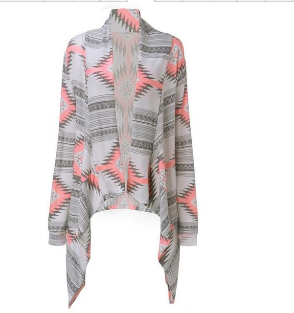 Women's Tribal Print Cardigan