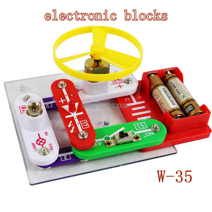 Electronic Building Blocks Lets Kids And Adults Create Simple Circuits