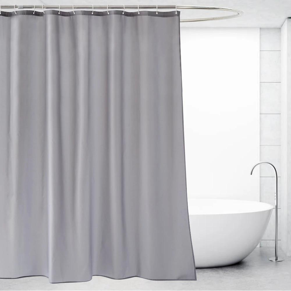 ufriday rideau de douche gris en polyester impermeable pour salle de bain decoration d hotel pour la maison