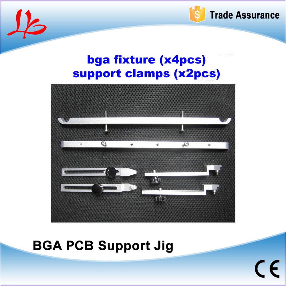 Free shipping! support Jig BGA fixture (x4pcs) Bottom support toggle clamp (x2pcs) For IR6000 IR6500 IR9000 etc bga jig with screws 4pcs