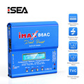 HTRC iMAX B6 AC RC Charger 80W 6A Dual Channel Balance Charger Li-ion Nimh Nicd Lipo Battery With Digital LCD Screen Discharger