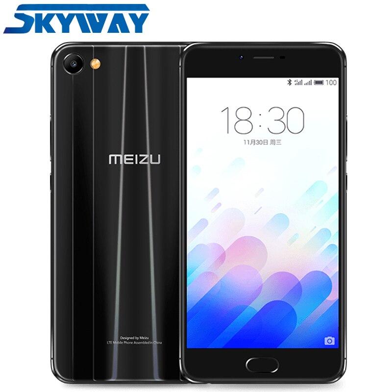 "Original MEIZU M3X 4G LTE Smart Phone Helio P20 Octa Core 5.5"" TDDI 1920x1080p 3GB RAM 32/64GB ROM 3200mAh Battery Mobile Phone"