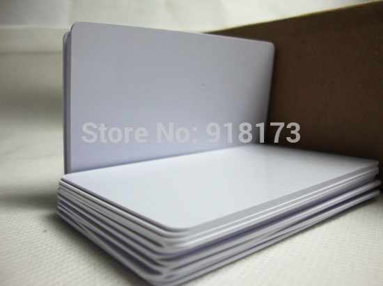 1000pcs/lot 125khz Inkjet Printable PVC ID card EM4100/TK4100 for Epson printer, Canon printer 20pcs lot double direct printable pvc smart rfid ic blank white card with s50 chip for epson canon inkjet printer