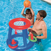 Inflatable swim pool basketball football volleyball game water sports float children party game toy water accessory handball