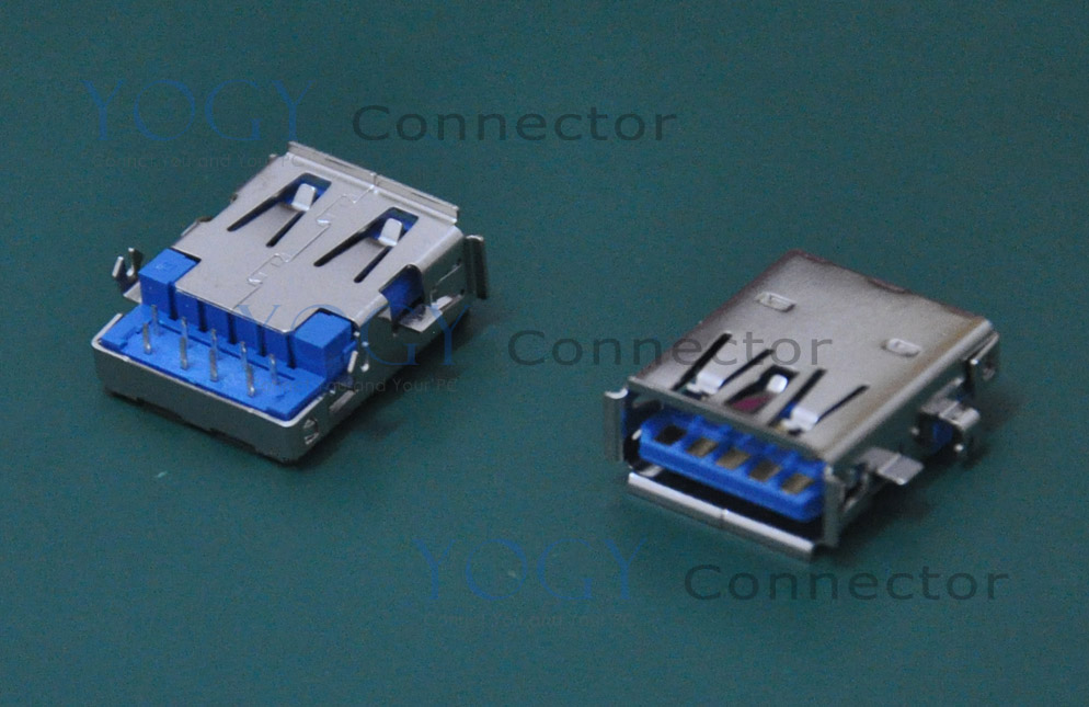 (10pcs/lot) 17mm Female USB 3.0 Jack Connector fit for ASUS G74SX G74 G75VW Series and other laptop motherboard