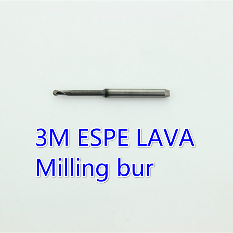 3pcs Cutter Teeth Dental Blocks Drill CADCAM Milling Bur Tool Compatible with 3m Espe Lava Machine
