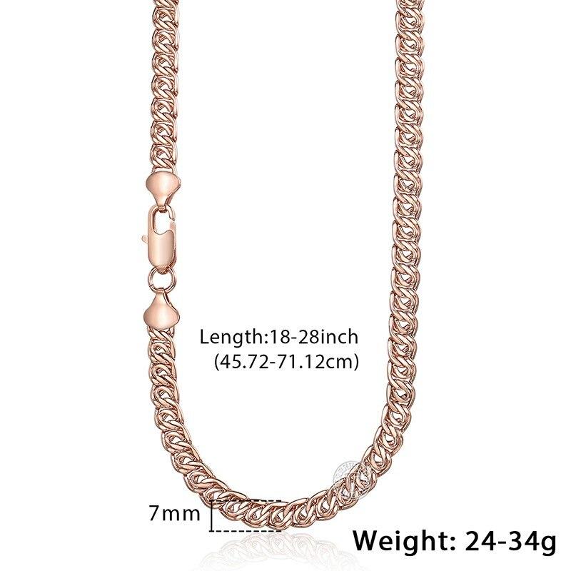 16d9ac4b2014 Davieslee hombre collar de cadena de acero inoxidable collares para hombres Figaro  enlace joyería de moda al por mayor 6 7 9mm 18-24 pulgadas KNM05