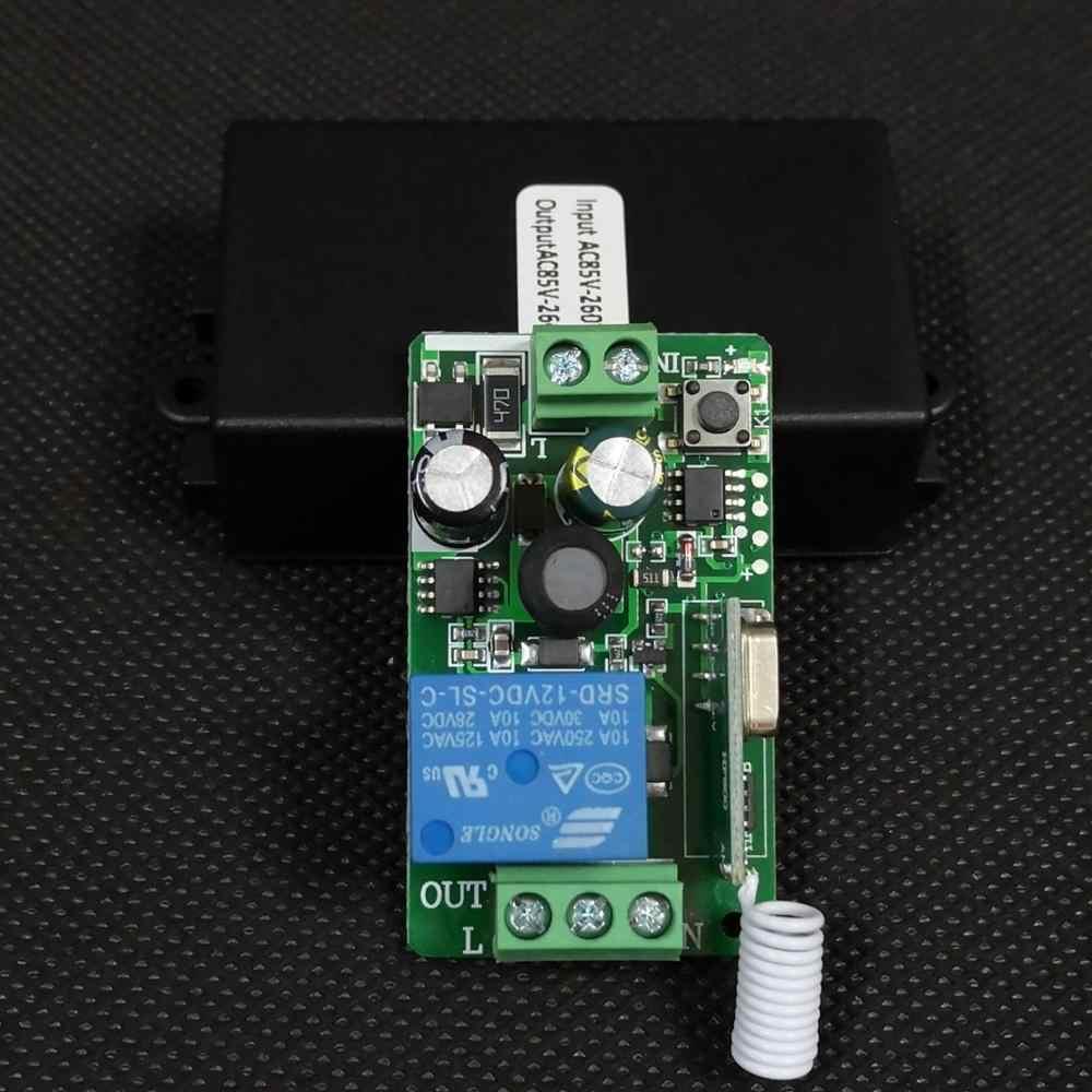 AC 110V 220V 240V 85 V-260 V rf pilot zdalnego sterowania przełącznik światła lampa LED żarówki bezprzewodowe przełączniki korytarz pokój ścienny przełącznik do panelu 315433