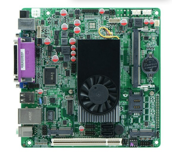 Atom D525 latest Tablet Pc Intel Industrial Motherboard Car PC Motherboard x7dca l industrial motherboard 100