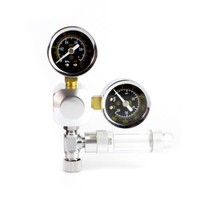 Aquarium CO2 Regulator Tank Live Plant Flow Pressure Control Check Valve Bubble Counter Decompression Table Cylinder