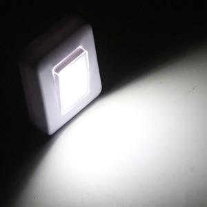 Image 5 - COB Schalter FÜHRTE Wand Licht Nachtlicht Magnetische AAA Batterie Betrieben Ultra Helle Luminaria Mit Magic Tape Für Garage Schrank