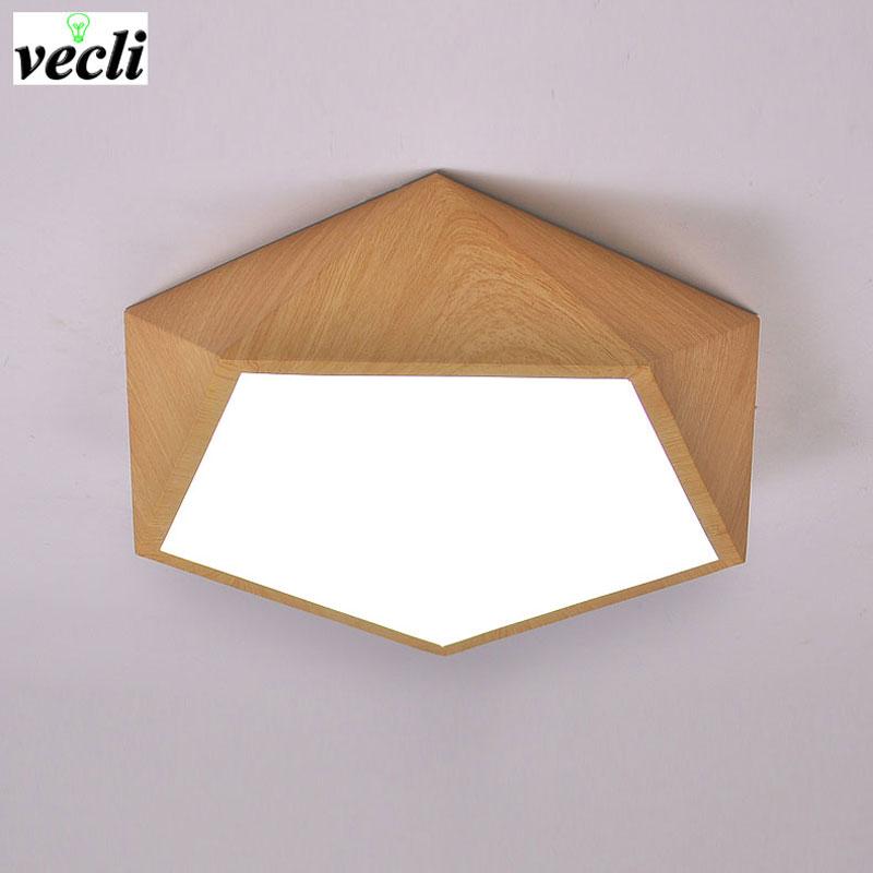 چراغ های سقفی سقف LED هندسی خلاق تقلید خلاق