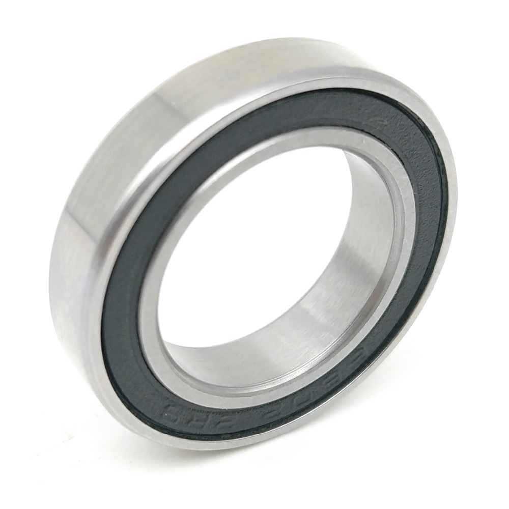 MOCHU 1pcs <font><b>Bearing</b></font> 6802 <font><b>6802RS</b></font> 6802-2RS 15X24X5 ABEC-3 MOCHU Thin Section Shielded Deep Groove Ball <font><b>Bearings</b></font> Single Row image