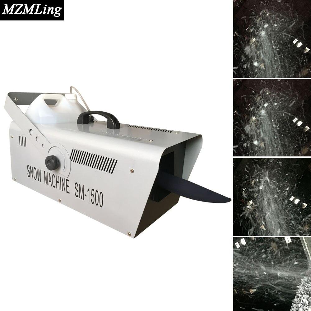 1500w &5L DMX512 Snow Machine Drive-By-Wire/Remote Control Professional DJ /Bar /Party /Show /Stage Machine aurora double drive 1500