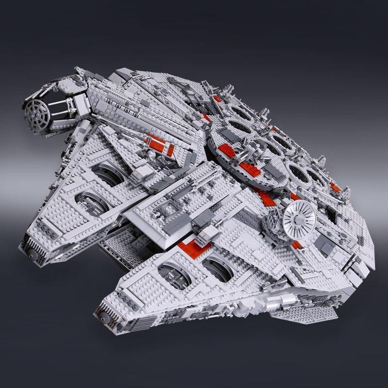 Лепин 05033 звезды План серии 5265 шт. Ultimate коллекционная игрушка тысячелетия модель Сокол строительство комплект блоки кирпичи Рождество 10179