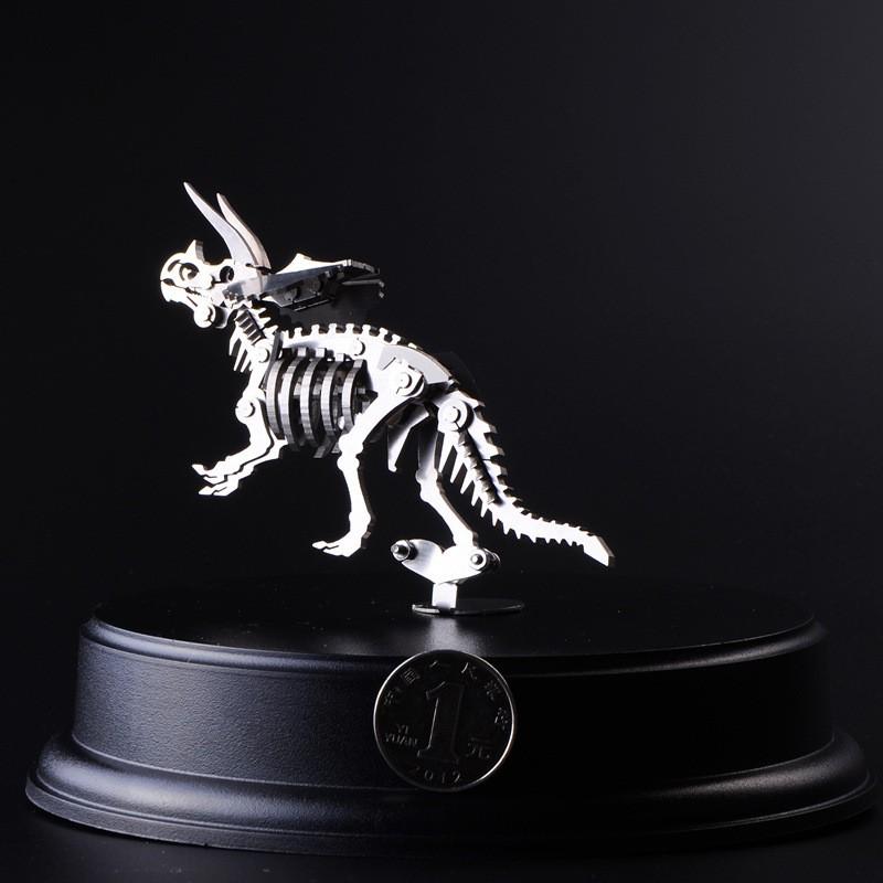 3D-Metal-Puzzle-Assembling-Triceratops-Detachable-Model-Jurassic-Park-Dinosaur-Originality-Toys-For-Kids-Creative-Present-TK0136 (3)