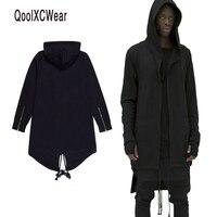 QoolXCWear Hoodies Erkek/kadın Kapüşonlu Pelerin Artı Uzun Şal Çift Ceket-Ceket Assassins Creed Ceket Streetwear Boy