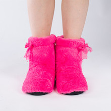 2014 New Thermal IndoorCotton Boots Fashion Men/ Women Cotton-padded Shoes Warm Coral Velvet. Female Winter Soft Canister